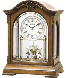 Rhythm CRH124NR06 Wooden Table Clocks