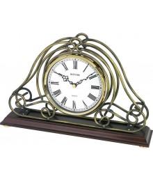 Rhythm CRG115NR06 Wooden Table Clocks