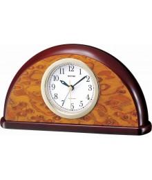 Rhythm CRE203NR06 Wooden Table Clocks