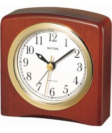 Rhythm CRE205NR06 Wooden Table Clocks