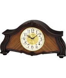 Rhythm CRH241NR06 Reloj Sobremesa Madera