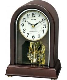 Rhythm CRH249NR06 Reloj Sobremesa Madera