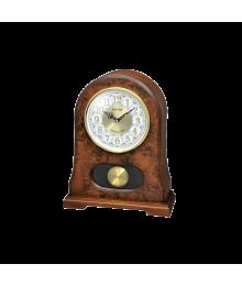 Rhythm CRJ753NR06 Reloj Sobremesa Caja Madera