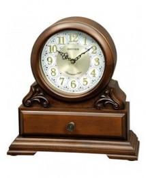 Rhythm CRH261NR06 Reloj Sobremesa Madera