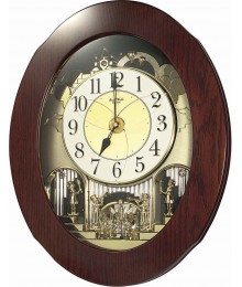 Rhythm 4MH838WD06 Magic Motion Clocks
