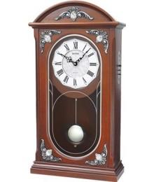 Rhythm CRJ723FR06 Wood Table Clock