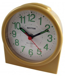 Rhythm CRA102-R38 Bell Alarm Clock