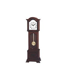 Rhythm CRJ717CR06 Wood Table Clock