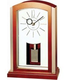 Rhythm CRP608NR06 Wood Table Clock
